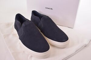 Vince NWB Loafers Size 11 D in Navy Suede Fenton-4 $195
