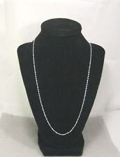 "26 inch 2 mm 925  ""S-Twist"" sterling silver  necklace"