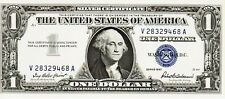 SERIES 1957    ONE DOLLAR SILVER CERTIFICATE==CRISP/UNCIRCULATED CONDITION