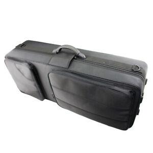 Brand new high quality black tenor saxophone fabric hard case