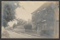 Postcard Taunton Somerset posted 1903 RP our house by Emmie Dunning