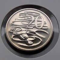 1994 Australia Twenty 20 Cent Coin - Ex Mint Set - Choice Gem