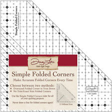 Template ~ SIMPLE FOLDED CORNERS ~ Antler Quilt Design Acrylic Template