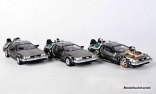 Dmc-12 DeLorean 3er Set back to the future 1:43 Vitesse