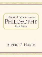 Historical Introduction to Philosophy (4th Edition)