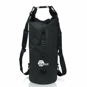 yourGEAR Dry Bag 20 L wasserdichter Rucksack Seesack Schultergurten Griff Ventil
