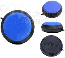"3"" Air Disk Weighted Bubble Stone Aquarium/Hydroponic Diffuser/Aerator Deep Blue"