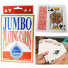 52 Jumbo Large Giant Pack Playing Cards Portable Game Outdoor Travel Family Deck