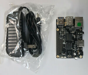 ROCK64 1GB Single Board Computer Kit V2 includes Power Adapter