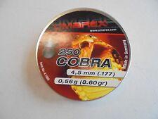 Umarex cobra pointed .177 / .4.5mm airifle pellets x 250.