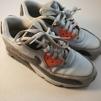 Nike Air Max 833376-006 Shoes Youth Size 6Y Grey/White/Orange