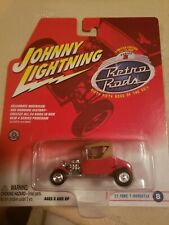 JOHNNY LIGHTNING Limited Edition HOT RODS ~ 1927 Ford T-Roadster ~ 1/64 Diecast