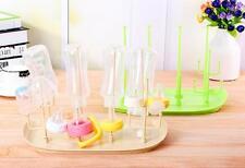 Infants Baby Bottle Dryer Rack Kitchen Clean Drying Shelf Feeding Holder Rack