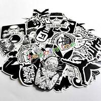 60pcs Skateboard Vinyl Sticker Skate Graffiti Laptop Luggage Car Bomb Decal Lot