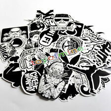 60pcs Skateboard Vinyl Sticker Skate Graffiti Laptop Luggage Car Bomb Decal Lot