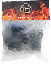100 PACK VITON #11105 Harley / Buell Motorcycle Drain Plug O-Ring Replacements