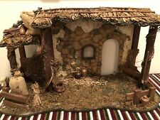 Fitz And Floyd Nativity Stable (stable Only, Figs Not Included)