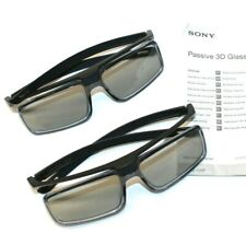 2-Pack Sony TDG-500P Passive 3D TV Glasses