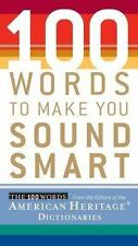 100 Words: 100 Words to Make You Sound Smart (2006, Paperback)