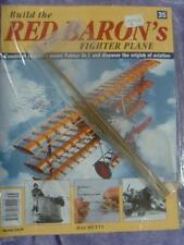 HACHETTE BUILD THE RED BARON'S FIGHTER PLANE FOKKER DR1 # 35 NEW SEALED