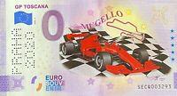BILLET 0  EURO GP TOSCANA COULEUR    ITALIE 2020 NUMERO DIVERS