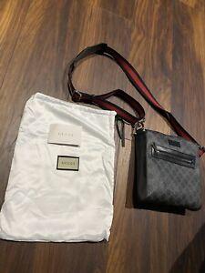 mens gucci messenger bag