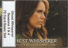 Ghost Whisperer Seasons 3 & 4 - 72 Card Basic/Base Set - Breygent 2010