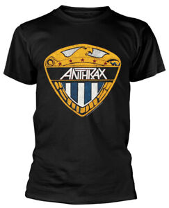 Anthrax 'Eagle Shield' (Black) T-Shirt - NEW & OFFICIAL!