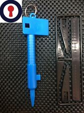 carpentry tools for door locks euro cylinder turning and measuring 1st P&P