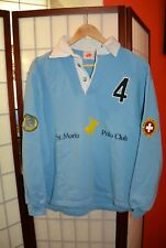 St. Moritz Polo CLub winter polo jersey shirt  S .ALY