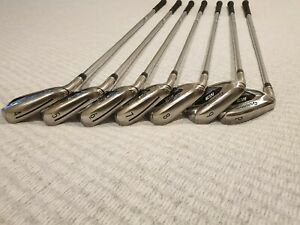 TAYLORMADE M3 IRON SET 4 - PW LEFT HANDED MENS