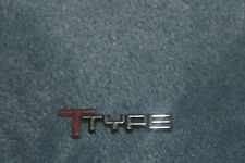 84,85,86,87 Buick Regal TTYPE door emblem