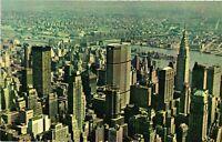 Vintage Postcard - City Skyline and Pan Am Building New York NY #1725