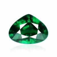 Tsavorite Garnet 1.06ct Intense top green color 100%natural earth mined Tanzania