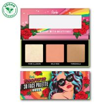 RUDE NoFilter 3D Face Palette - Roses (Free Ship)