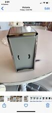 New listing Stainless Steal 2 Sided Resturant Napkin Holder. No Box Never Used!