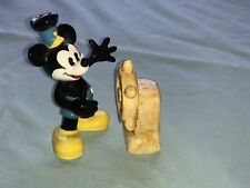 Disney Mickey Mouse and ships wheel salt and pepper pots