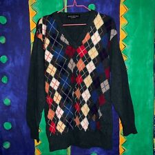 RARISSIMO MAGLIONCINO A V BY YVES SAINT LAURENT TAGLIA XL MADE IN ITALY  ANNI 90  7e4d7fdce76