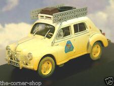 1/43 RENAULT 4CV BERLINE TYPE R1062 #3 AFRICA RALLY RAID MEDITERANEE LE CAP 1950