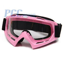 PINK DIRT BIKE ATV MOTORCYCLE GOGGLE MOTOCROSS H GOGGLE-PINK