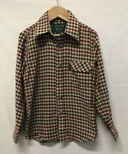 Country Classics Children's Red Mix Long Sleeved Checked Shirt. Age 6Y (.003)