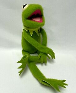 Vintage Kermit Frog 1976 Fisher Price 850 Jim Henson Muppets Doll Plush Poseable