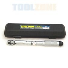 "Professional 3/8"" Drive Micrometer Torque Wrench Tool Low Range 5-25 Nm"