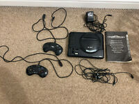 SEGA Megadrive Console /Controller With Instructions & Power Lead And Tv Connect