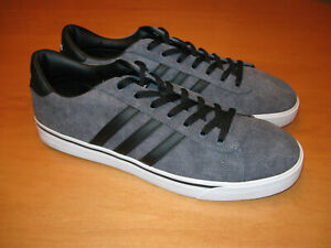 Adidas NEO Sneakers Gray Canvas AW4314 Size 14