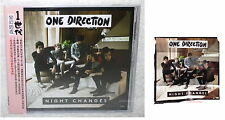 "One Direction Night Changes 2014 Taiwan CD w/OBI +""Folded"" poster"