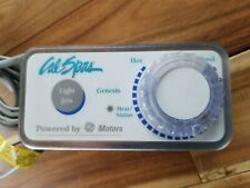 Cal Spas Genesis Topside Control Panel 1 Button w/ Temperature Dial Ele09200450