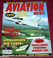 Aviation News 2007 June Airbus A380,Westland Wyvern,Gripen