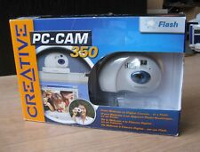 VINTAGE SEALED Creative PC-CAM 350 Webcam Web Cam Digital Camera (2002) NEW