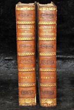 DESCRIZIONE DEL CAMPIDOGLIO DE RIGHETTI PIETRO. 2 VOLUMI. 1833 e 1836. di museo!